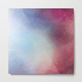 Galaxy Blossom Metal Print
