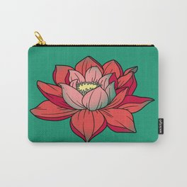 lotus, flower Carry-All Pouch