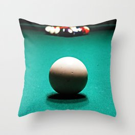 Racked and Ready Throw Pillow