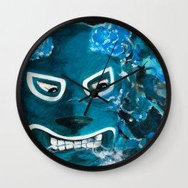 Lucha Libre-smokey Wall Clock