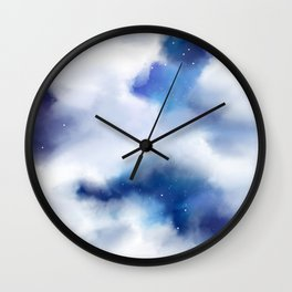 Amongst the Clouds Wall Clock