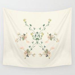 Sweet pea rorschach mandala Wall Tapestry
