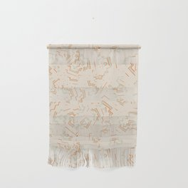 Modern African Zig-Zag Print Wall Hanging