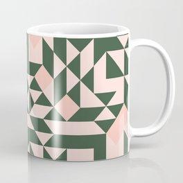 Geometric pattern pastel Coffee Mug