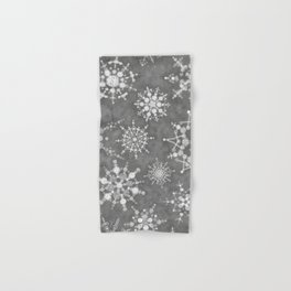 Winter Snowflakes Hand & Bath Towel