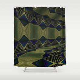 Iconic Hollows 12 Shower Curtain