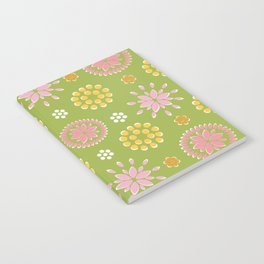 Lime Deco Notebook