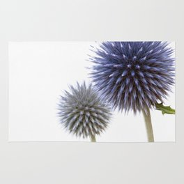 Echinops - Globe Thistles #1 #decor #art #society6 Rug