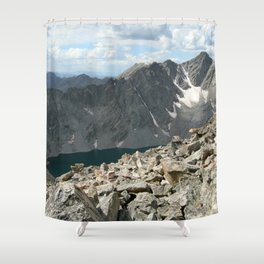 Holy Cross Mountain Shower Curtain