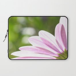 Pink African Daisy in the Light Laptop Sleeve