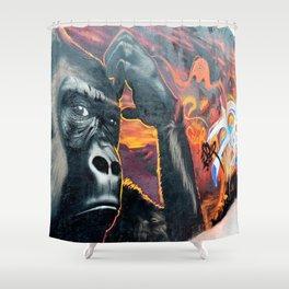 Gorille - Rue Ordoner Shower Curtain