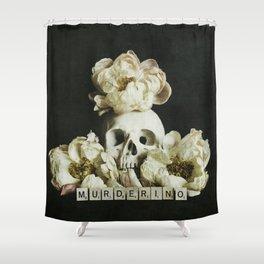 Murderino Shower Curtain