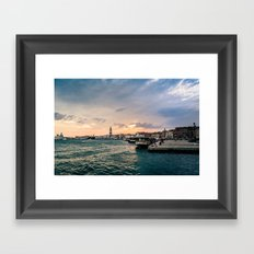 Arsenale Storm Framed Art Print
