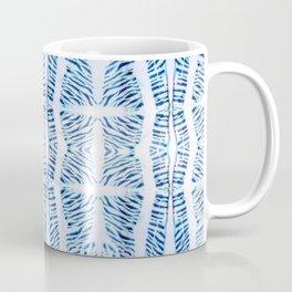 Shibori Arashi Print Coffee Mug