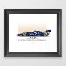#7 LOLA - 1993 - T9300 - Sullivan Framed Art Print