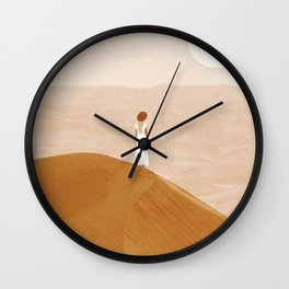 Endless Dunes Wall Clock