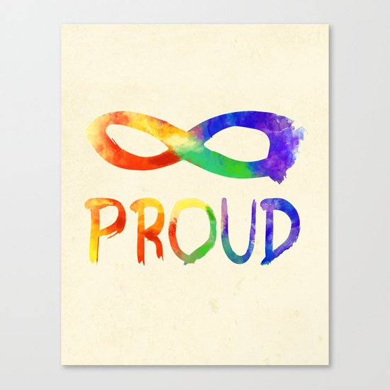 Forever Proud Canvas Print