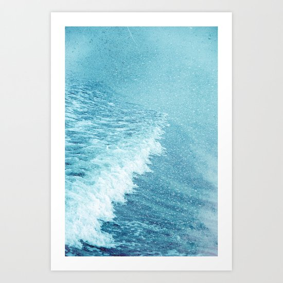fresh breeze Art Print