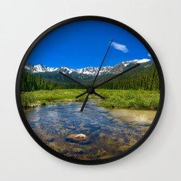 A hidden treasure Wall Clock