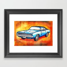 '68 Charger Framed Art Print