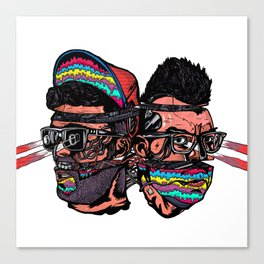 Bass Brothers Canvas Print