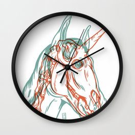Unicorn Xray Wall Clock