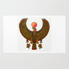 HORUS-EGYPTIAN DIETY Rug
