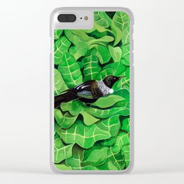 Tui in a Puka Clear iPhone Case