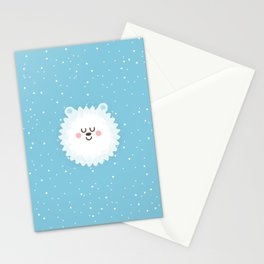 Sleeping Polar Bear Stationery Cards