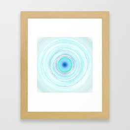 Whirled in a vortex- in the beginning - the end Framed Art Print