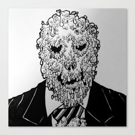 Mr. Melty Canvas Print