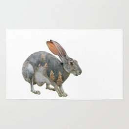 Hare Double Exposure Rug