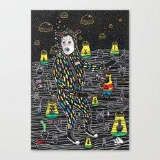 abduccion! Canvas Print