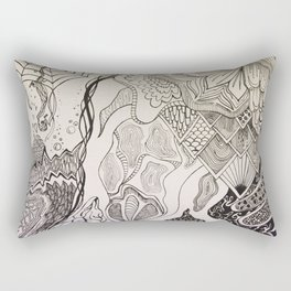 The Otherside Rectangular Pillow