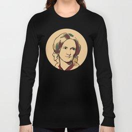 Charlotte Brontë Long Sleeve T-shirt