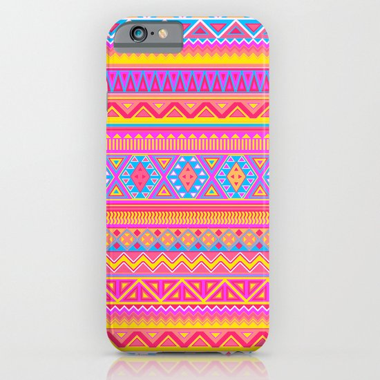 Aztec Pattern Pink 2013 iPhone & iPod Case
