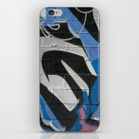 graffiti iPhone & iPod Skins featuring Graffiti by Electric Avenue
