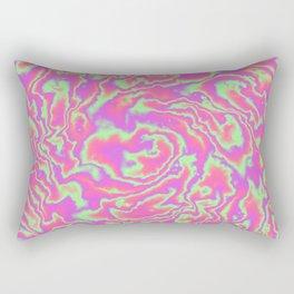 Turbulence in Tutti Fruitti Rectangular Pillow