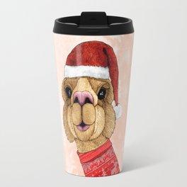 Alpaca Christmas Travel Mug