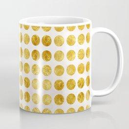 Gold Dots Coffee Mug