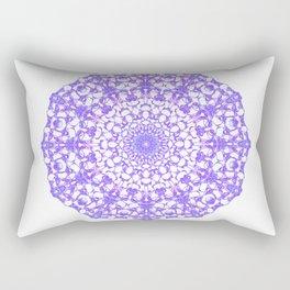 Mandala 12 / 4 eden spirit purple Rectangular Pillow