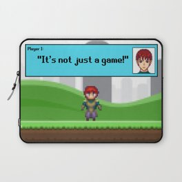 It's not just a Game! [Male Version 1] Laptop Sleeve