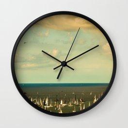 the Barcolana regatta in the gulf of Trieste Wall Clock