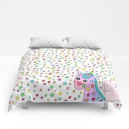 Rainbow the Unicorn Starstruck Comforters