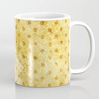 stay gold Mugs featuring Stay Gold #society6 by 83 Oranges™