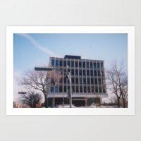 Office building in Westmount Art Print