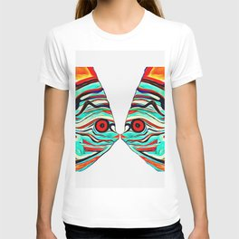 kissing fish T-shirt