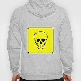 Skull Warning Sign Hoody