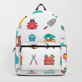 CUTE GARDENING PATTERN Backpack
