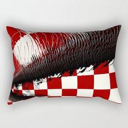Torn Apart Rectangular Pillow